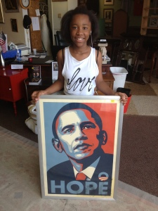 Another happy customer.  She bought the President for $5!