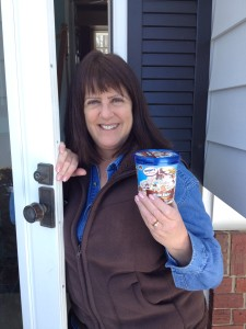 Yes, we deliver ice cream to Glen Burnie residents too!  (Feb. 28, 2015)